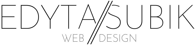 Edyta Subik Web Design Logo