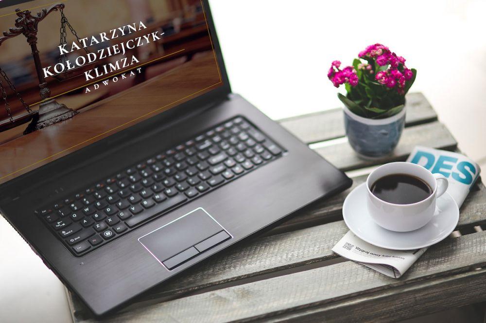 Strony internetowe Gliwice - portfolio - Adwokat Katarzyna Kołodziejczyk