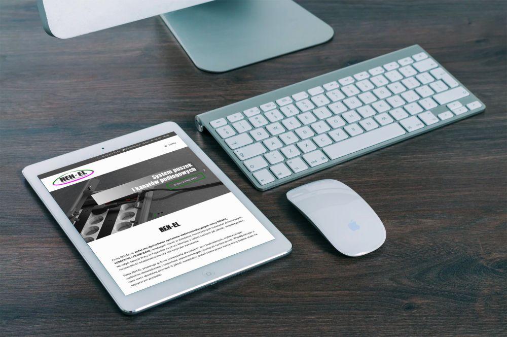 Edyta Subik - strony internetowe CMS WordPress Gliwice - portfolio - Reh-el