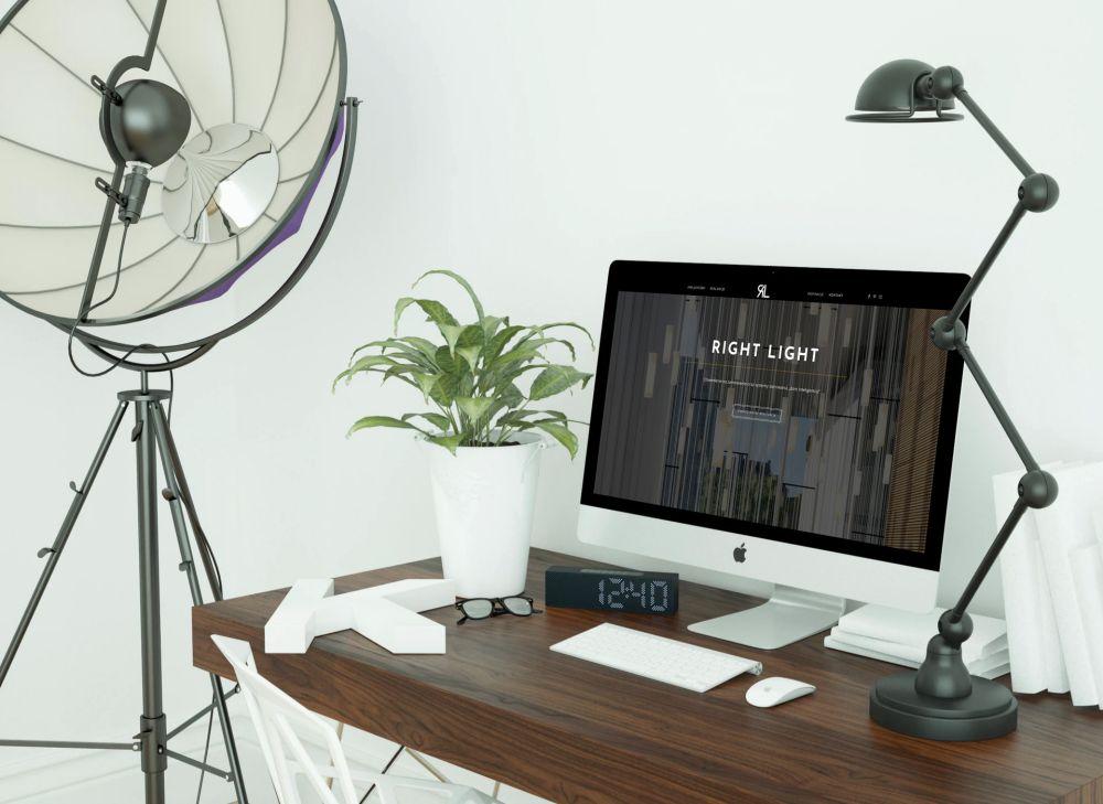 Responsywna strona internetowa Gliwice - portfolio - Right Light