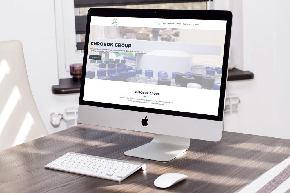 Nowoczesna strona internetowa WordPress Gliwice - portfolio - Chrobok Group