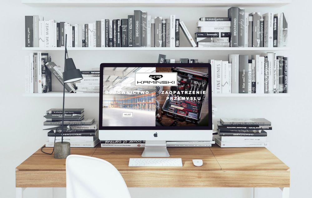 Strona internetowa WordPress - portfolio Gliwice - Kamiński