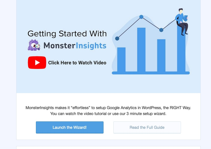 Google Analytics z MonsterInsights