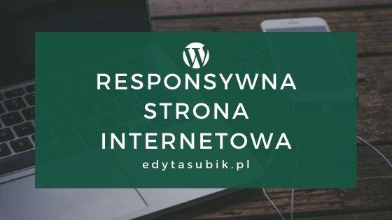 Co to jest responsywna strona www?