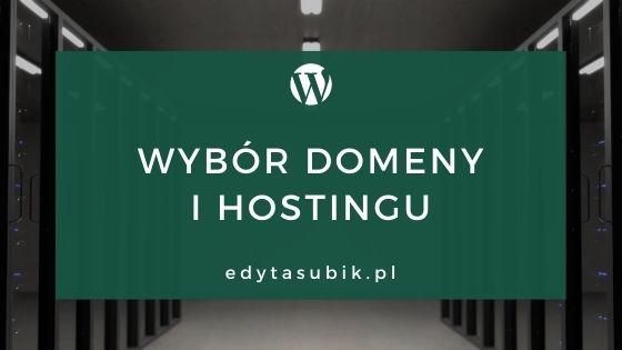 Read more about the article Wybór domeny i hostingu